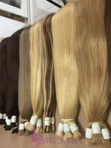 Bulk Straight Hair 24 inch, various color