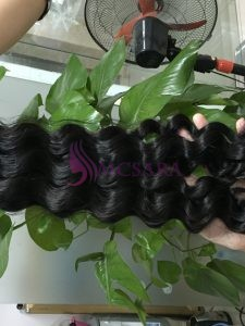 26 inches weaves wavy hair black color