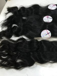 Vietnam hair weft machine natural wavy
