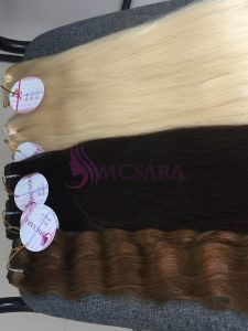 24 inches weaves hair extensions various color