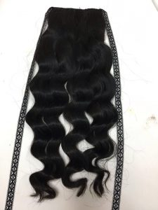 PONYTAIL BODY WAVY HAIR COLOR 1B