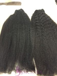 22 inches weave kinky hair extensions