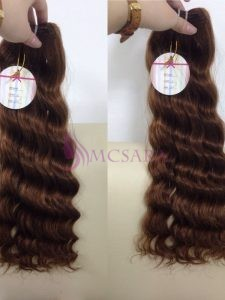 14 inches weaves deep wavy hair extensions