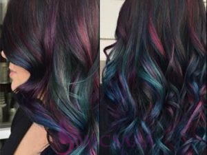 DARK RAINBOW HAIR – THE PERFECT HAIR TREND