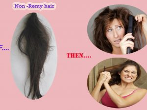 Distinction Remy and Non Remy Hair