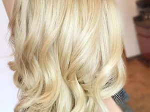 Dye hair blonde color at home