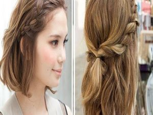 Making hairstyle beauty for girl ignore damges