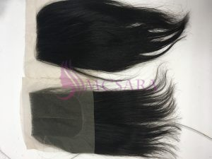 More beautiful with lace closure hair extensions