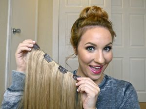 Prepare your hair for human hair extensions