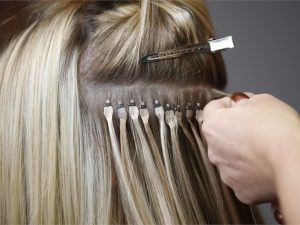 Proper flat-tip hair extension using method