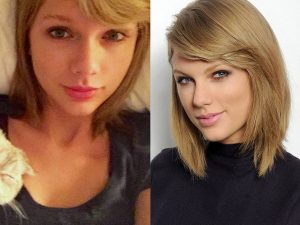 No Makeup Taylor Swift: Beautiful Or Not?
