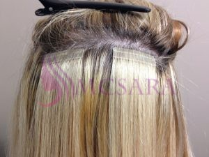 HOW TO GET A THICKER HAIR WITH VIETNAMESE TAPE HAIR EXTENSIONS