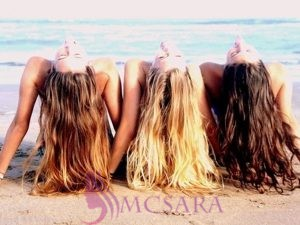 Three great tips for healthy summer hair