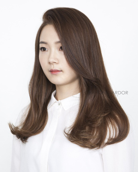 Korean Hairstyles C Shaped That You Can Try Right Now